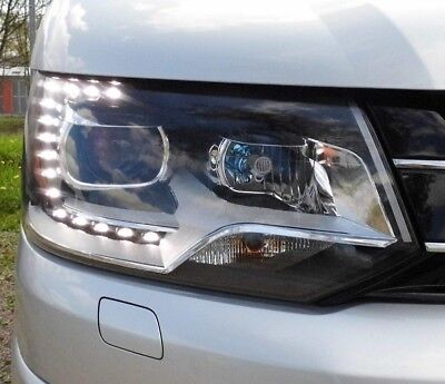 ORIGINAL-XENON-OPTIK SCHEINWERFER VW T5 BUS 09-15 FACELIFT LINKS RECHTS NEU DEPO