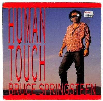 """Bruce Springsteen - Human Touch - 7"""" Record Single"""