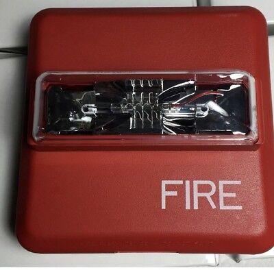 Cooper Wheelock Red Wallmount Fire Alarm Strobe Zrs-mcw-fr
