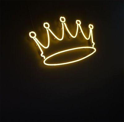 """New Crown Wall Decor Neon Sign 14'x10"""" Ship From USA"""