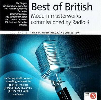 BEST OF BRITISH - MODERN MASTERWORKS COMMISSIONED BY RADIO 3 – BBC CD (2016)
