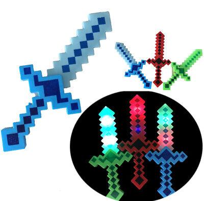 12 Light-Up Pixel Swords Flashing LED Toy Sticks Glow Lot Espadas WHOLESALE](Wholesale Light Up Swords)