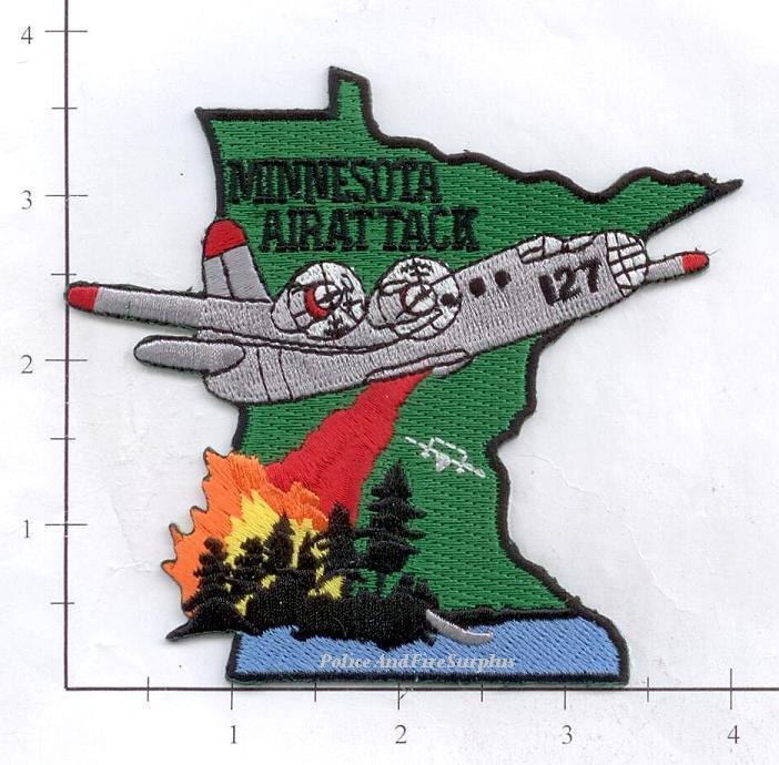 Minnesota - Minnesota Air Attack MN Forest Fire Dept Patch