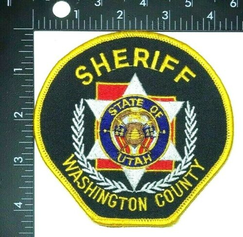 WASHINGTON COUNTY SHERIFF DEPARTMENT UTAH PATCH (PD 4)