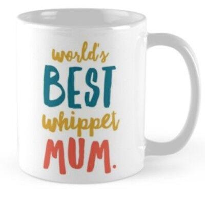 Novelty Whippet Mug, Ideal gift for any Lover Whippets.