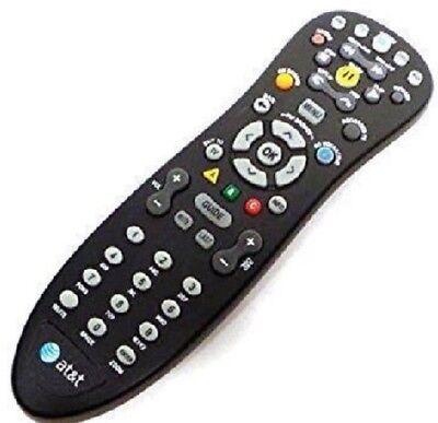 AT&T U-Verse Uverse S10-S3 Standard IR Infrared Multifunctional Black Remote