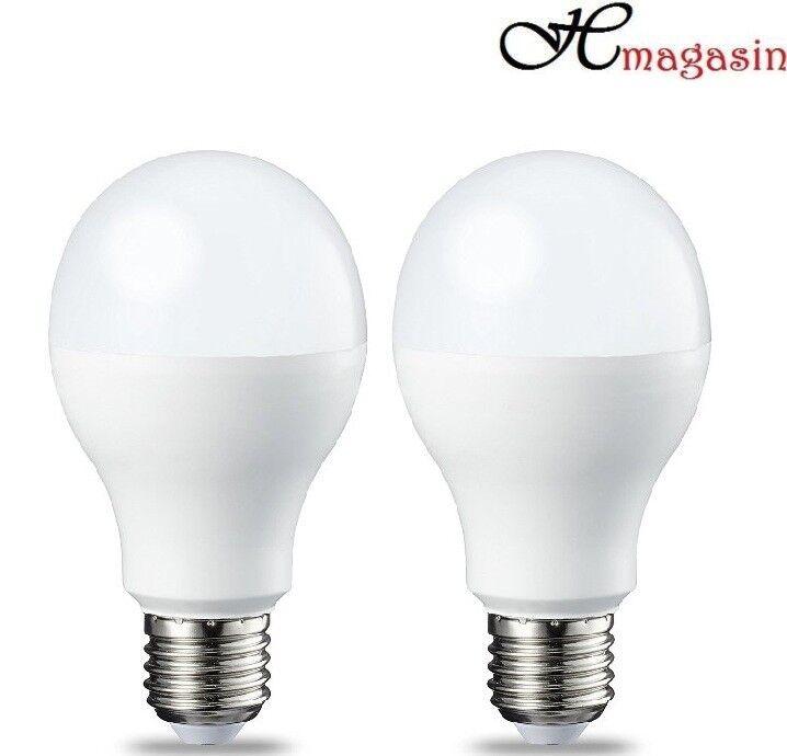 White Light 6 Pack 10W Energy Class A+ Acorn LED bulb E27 Cool white