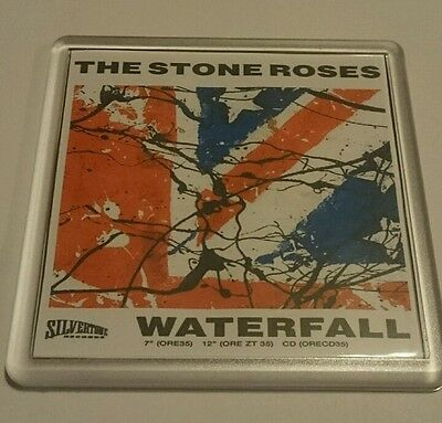 STONE ROSES COASTER Waterfall    cd vinyl rare ticket poster t shirt
