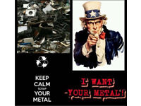All scrap metal wanted , fast friendly and reliable