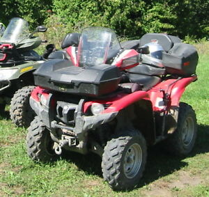 Yamaha Grizzly 550 EFS
