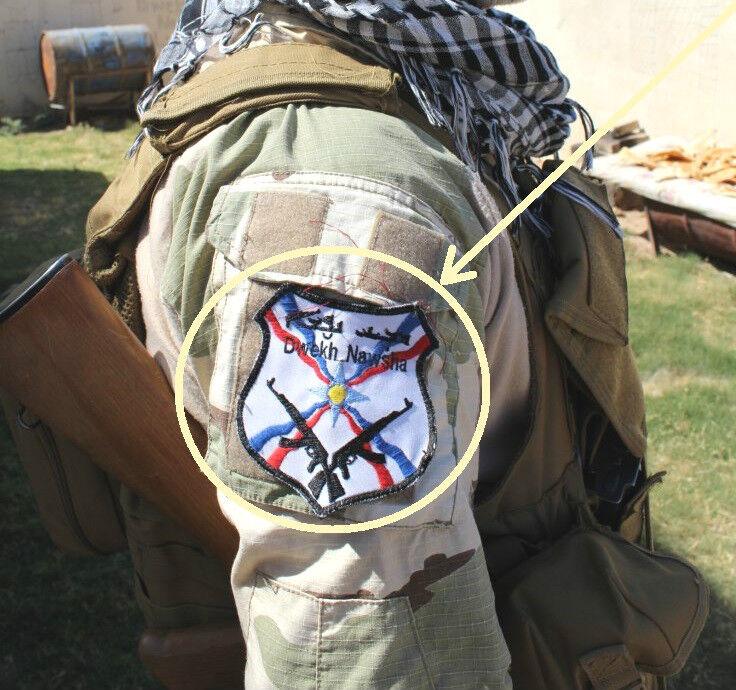 Christian-Iraqi Militia Anti-Isis Foreign Legion Volunteer velkrö Dwekh Nawsha