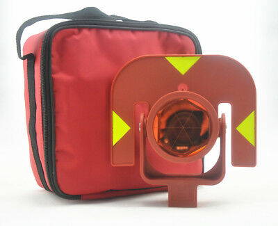 Red Single Prism Gpr111 Prism For Leica Total Stations Surveying Replace Prism