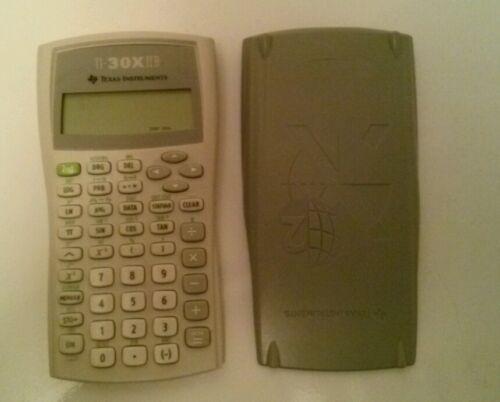Texas Instruments TI-30XIIB Scientific Calculator with sliding cover