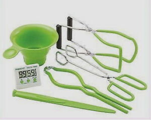New-PRESTO-7-Function-Canning-Kit-Accessories-Kitchen-Timer-Funnel-Lifter-09995