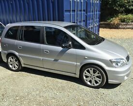 VAUXHALL ZAFIRA GSI 7 SEATER with FSH CASH EITHER WAY