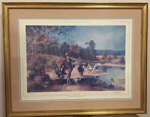 """Darcy Doyle """"Waltzing Matilda Limited Edition Print"""" - 872/1500 Berkeley Vale Wyong Area Preview"""