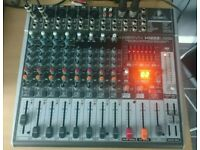 Behringer Xenyx x1222usb studio/live mixing desk - USB connection