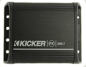 Kicker amp mono car amplifiers ebay kicker 12px2001 200w mono caratv motorcycle mini amplifier amp audio px200 sciox Gallery