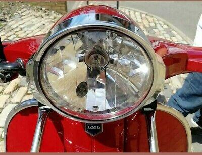 Vespa PX 150, LML Star 45 Vintage Headlight Bulb & Housing 125 150 200 146mm