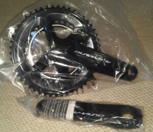 Dura-Ace 9100 11-Speed Crankset 50/34, 175mm, Brand New!