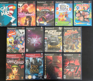 Playstation 2 (PS2) Games from $5-$25