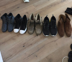 Selling 5 Pairs of Barely Worn Mens Boots $50 - $70