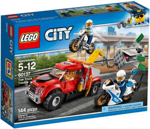 Lego City Tow Truck Trouble 60137 144 Pieces *NEW/UNOPENED* $20