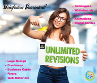 OVER THE TOP Logo & Graphic Design UNLIMITED Revisions!