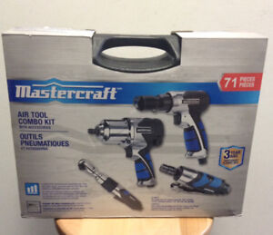 Mastercraft 71pc Air Tool Combo Kit
