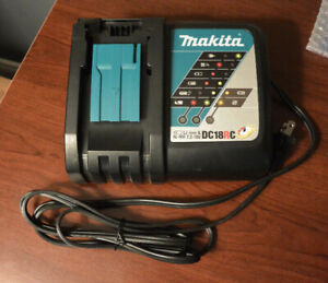 Brand New Makita 18v Battery Charger (DC18RC)
