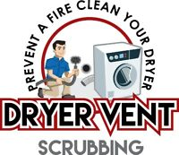 DRYER VENT LINT CLEANING