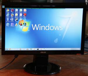 """Écran ordinateur ASUS VH197D - LED monitor - 18.5"""""""
