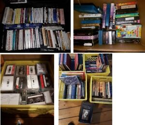 Large Lot of religious/spirituality Recordings and books