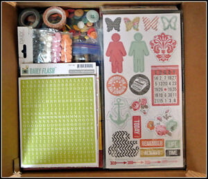 Scrapbooking, Cardmaking or Art Journaling Supplies