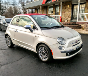 2014 FIAT 500C LOUNGE CONVERTIBLE ONLY 62,000KM!