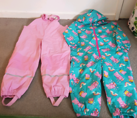 Girls Waterproofs 5-6 years