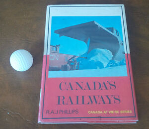 Canada's Railways, R.A.J. Phillips, 1968 Kitchener / Waterloo Kitchener Area image 1