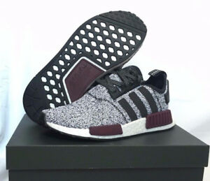 3c6369d37 DS Adidas NMD R1 Champs Exclusive Burgundy Grey - Size 8