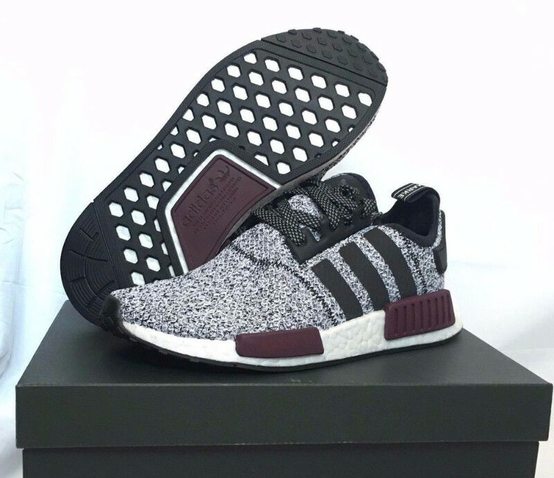 competitive price 2d569 0b3a6 DS Adidas NMD R1 Champs Exclusive Burgundy Grey - Size 8  Me