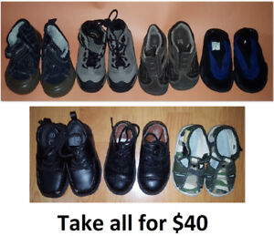 Sizes 6 Boy Shoes Lot - 7 Pairs for $40