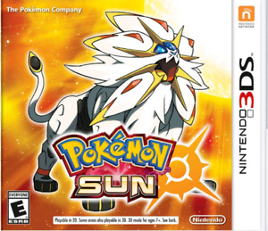 Pokemon Sun Nintendo 3ds