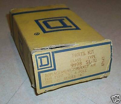 Motor Starter Contact - Square D Motor Starter Contact Kit 9998-SL12