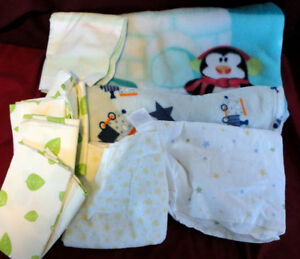 Baby blankets and change pads