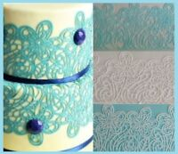 SNOW FLAKES OR EDIBLE SUGAR LACES FOR CAKES