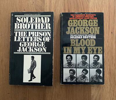 George Jackson LOT Soledad Brother & Blood In My Eye 1970/72 Bantam pb RARE BLM
