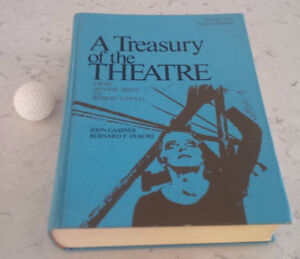 Book: A Treasury of the Theatre, Vol Two, 4th Edition Kitchener / Waterloo Kitchener Area image 1