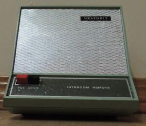Circa 1970's Heathkit Intercom Desk Remote Model GD-120