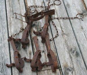 Vintage Muskrat Traps