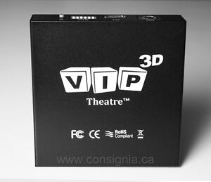 VIP 3D Theater Converter for DLP 3D Ready Projectors - Outperforms Optoma 3D-XL!