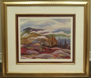 """PERFECT ART.  A. J Casson, Group of Seven. Framed """"Fog Clearing"""""""